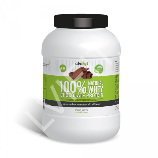 100% Natural WHEY Chocolate Protein 2 kg (1)