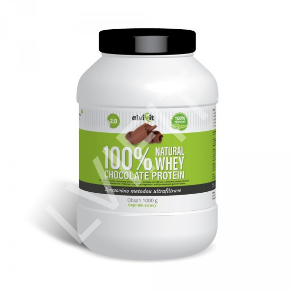 100% Natural WHEY Chocolate Protein 2.0 1 kg (2)