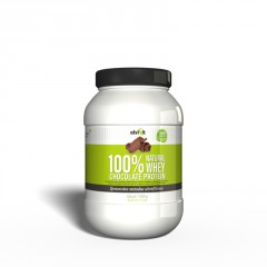 100% Natural WHEY Chocolate Protein 1 kg 1.0