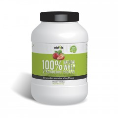 100% Natural WHEY Strawberry Protein 1 kg