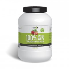 100% Natural WHEY Strawberry Protein 2 kg